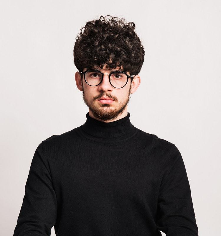 The 45 Best Curly Hairstyles for Men | Improb
