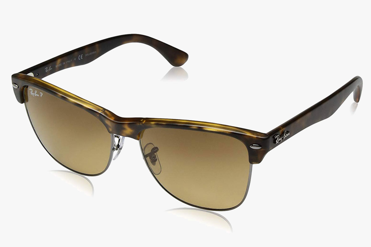 Ray-Ban RB4175 Clubmaster OverSized Polarized Sunglasses