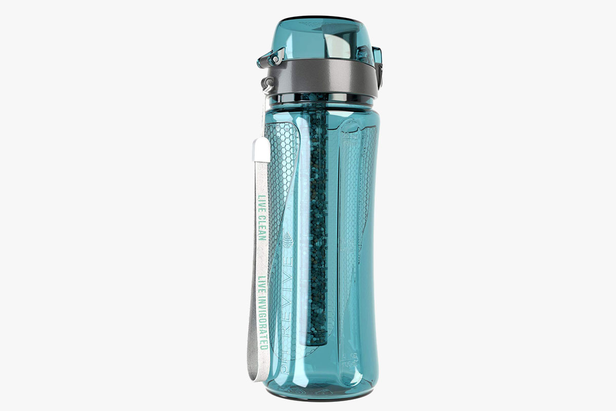 Invigorated Water pH Revive Alkaline Water Filter Bottle