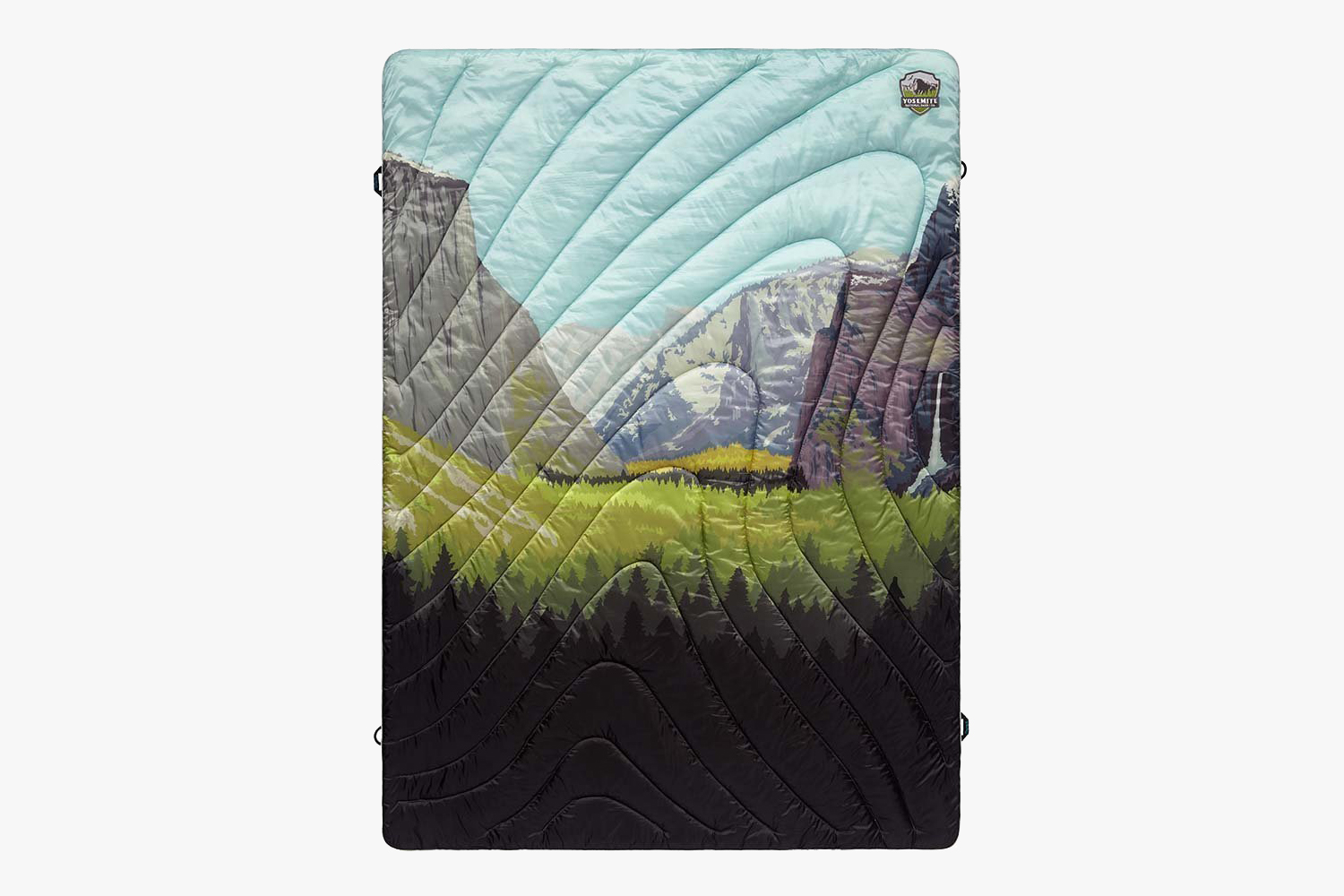 The Original Puffy Blanket Yosemite Edition Gets In-Touch With The Wild