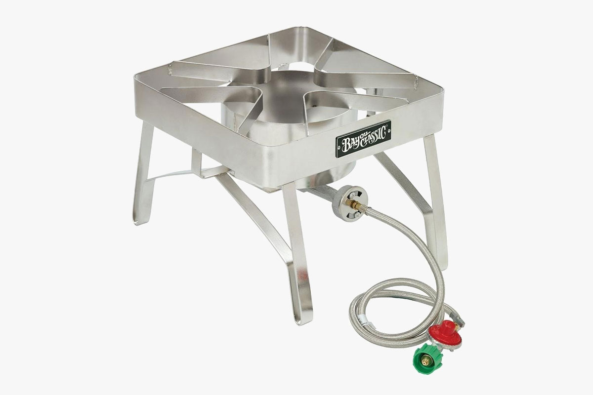 Bayou Classic SS84 Stainless Steel Brew Stove