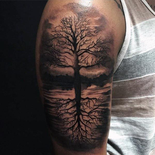 Have the Tree of Life Tattooed on Your Shoulder