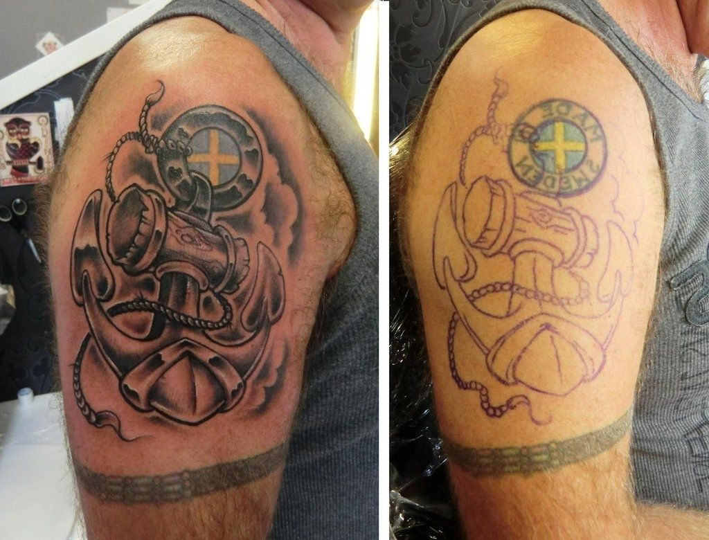 Incorporate an Old Tattoo into a New One