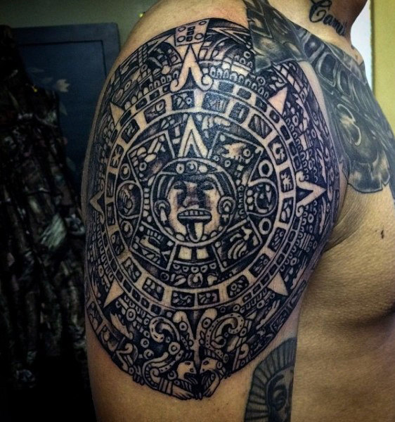 The 85 Best Aztec Tattoos For Men Improb