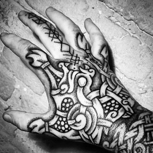 Nordic Tatto for Your Hand