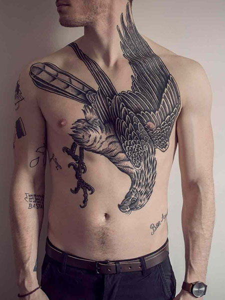 Soaring Eagle Chest Piece