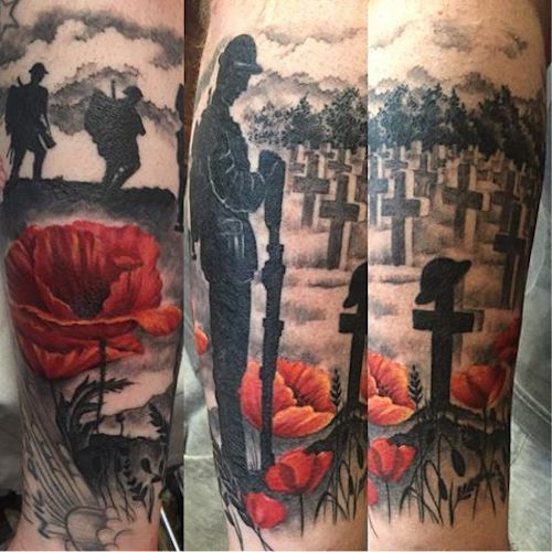 Soldier Roses