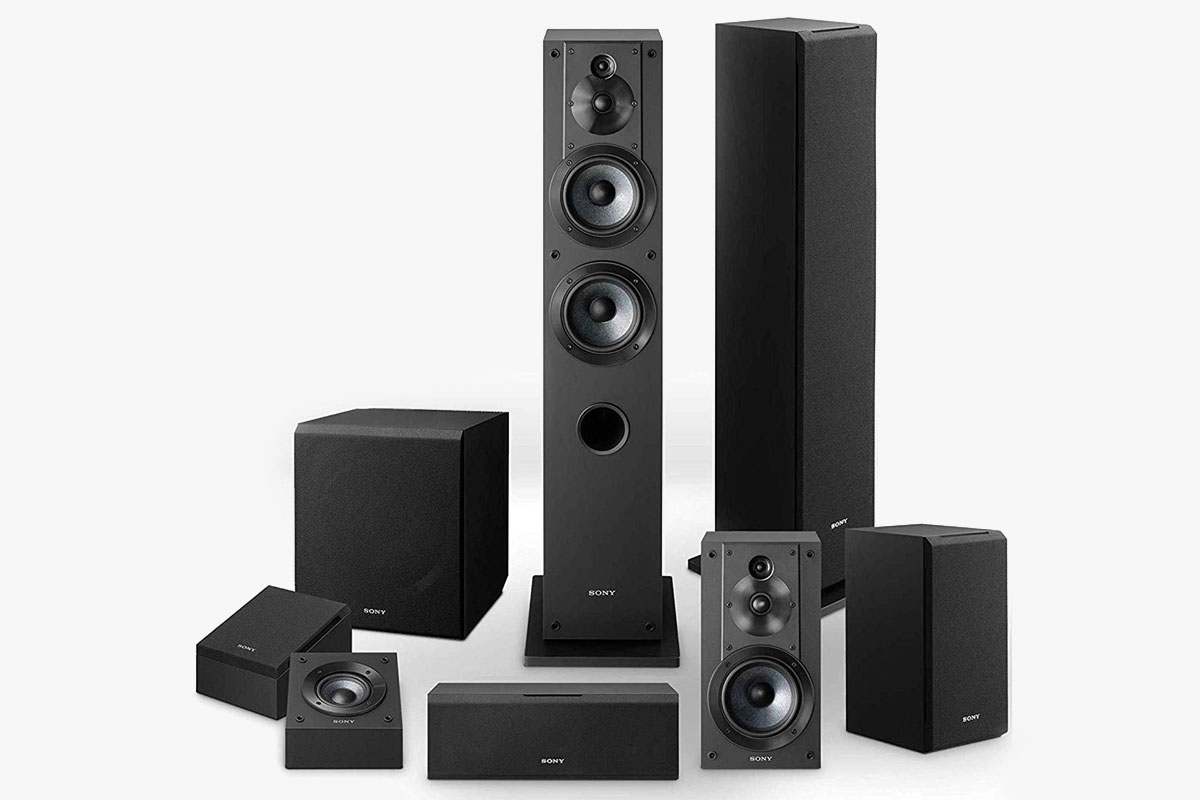 Sony 7.2 Home Theater System