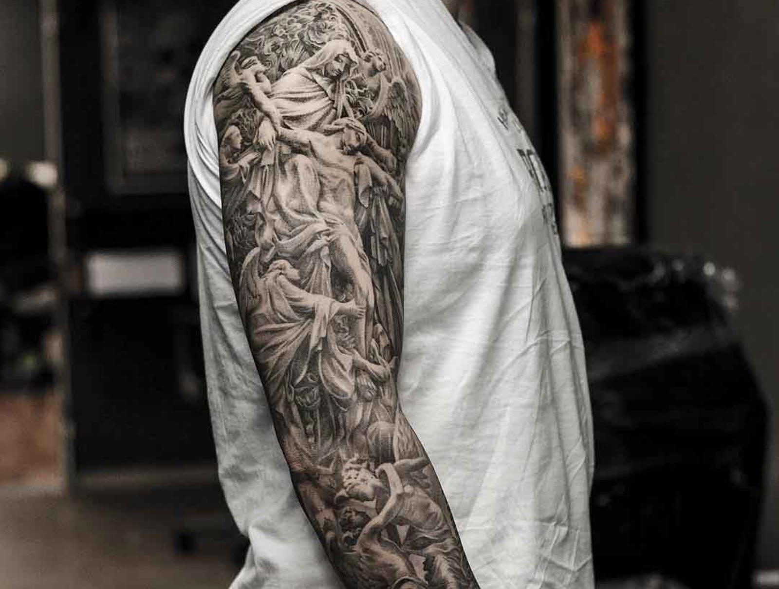 The 110 Best Religious Tattoos For Men Improb