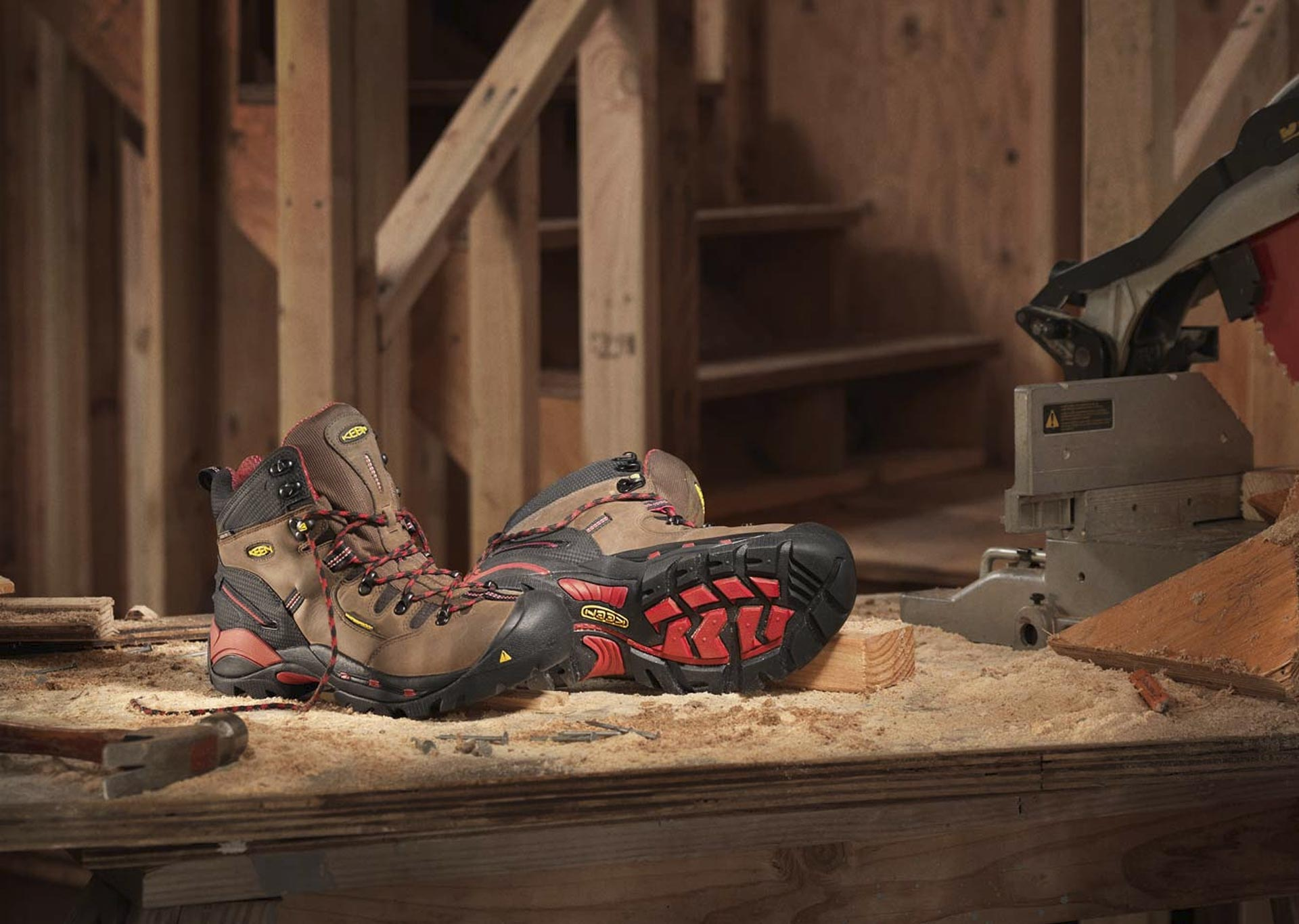 Work Boots for Wide Feet