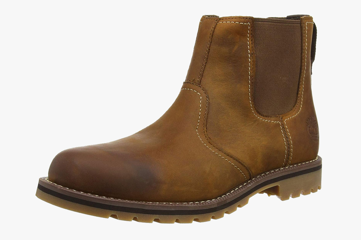 Timberland Men's Larchmont Chelsea Leather Boots
