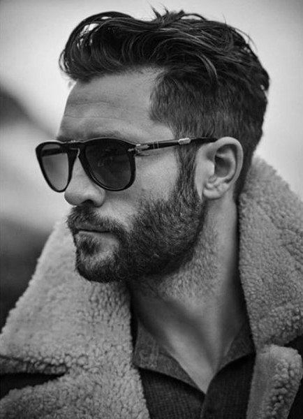 Wavy Hairstyle for Dads