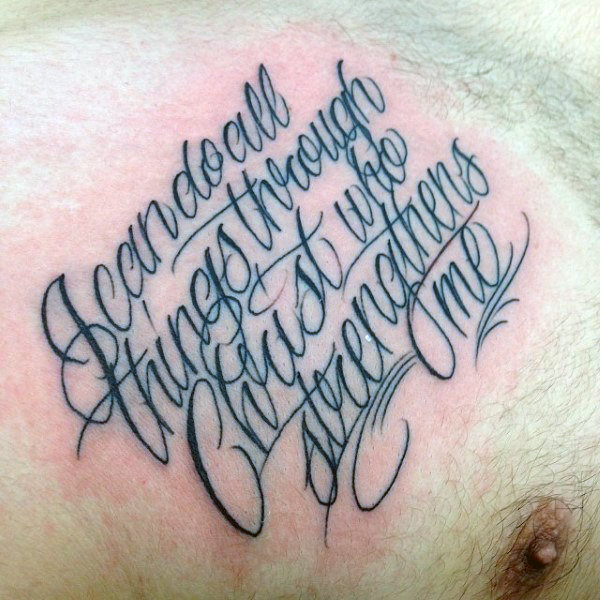 The 60 Best Bible Verse Tattoos For Men Improb