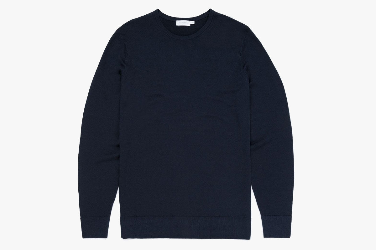 Sunspel Merino Fine Wool Sweater