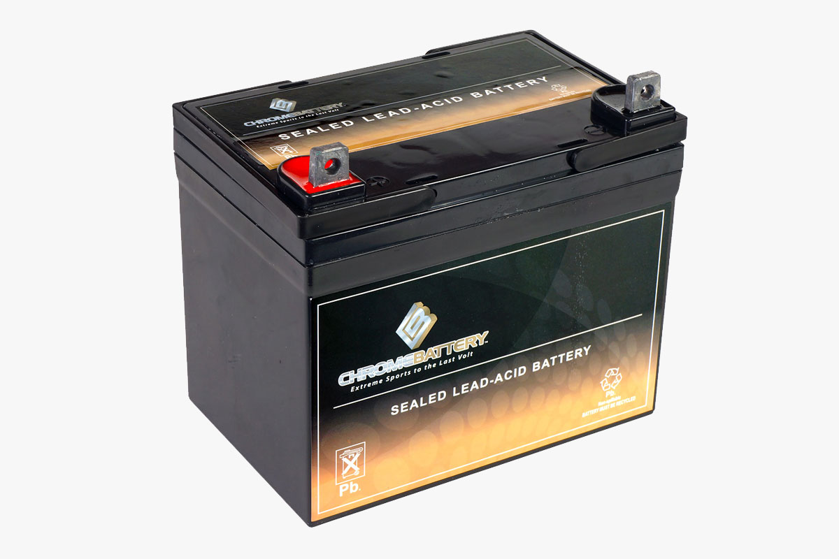Chrome Battery Rechargeable