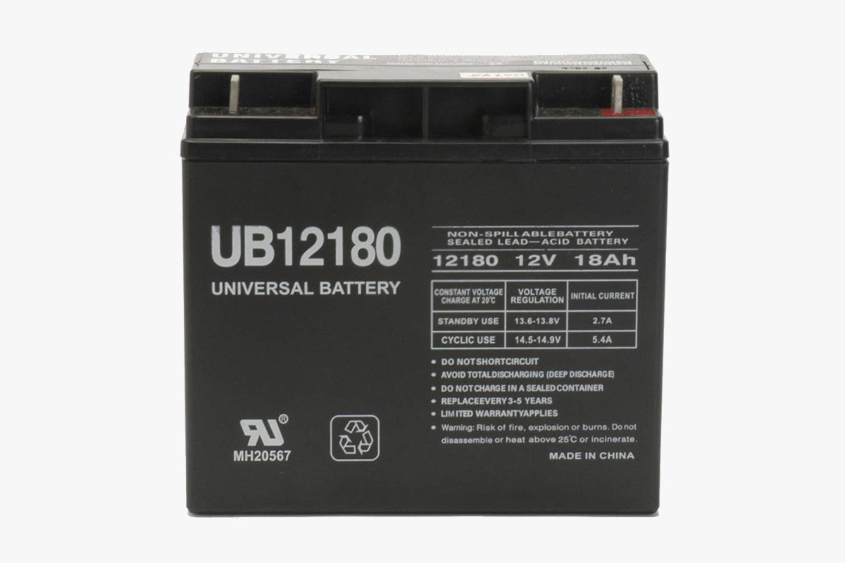 Universal Power Group UBCD5745 Lead Acid Battery