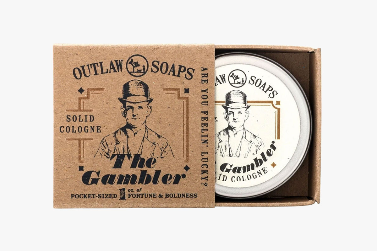 Gambler Solid Cologne Bourbon