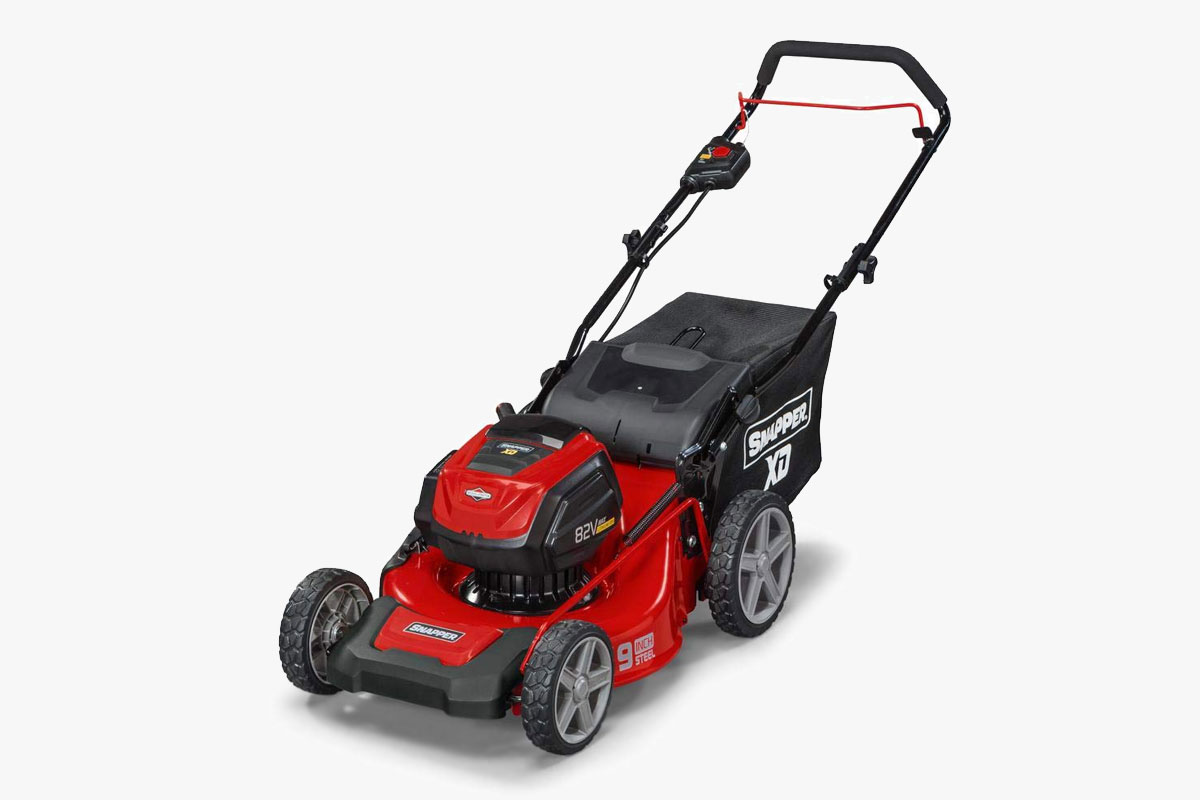 Snapper XD 19-Inch 82-Volt Lithium-Ion Electric Cordless Walk Behind Push Mower