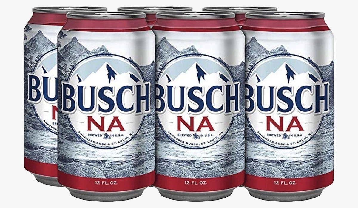 busch 6-pack non-alcoholic beer