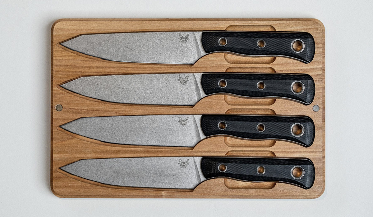 benchmade table knife set